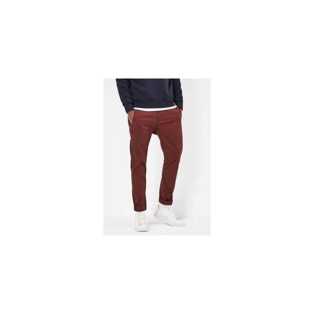 trouver le prix le plus bas 100% authentifié acheter bien G-star Raw - Pantalon Chino Bronson Bleu G.STAR - pas cher ...