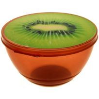 Promobo - Saladier Boite Alimentaire Box Fun Aspect Fruit Gourmand Kiwi 0,5L