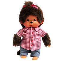 MONCHHICHI - Fille Chemise Vichy Rouge - 20059