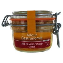Adour Gastronomie - Foie Gras de Canard Entier Bocal 130g