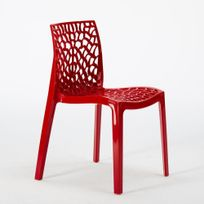Chaise S6316R Rouge