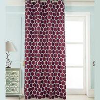 rideaux bordeaux achat rideaux bordeaux pas cher rue du commerce. Black Bedroom Furniture Sets. Home Design Ideas