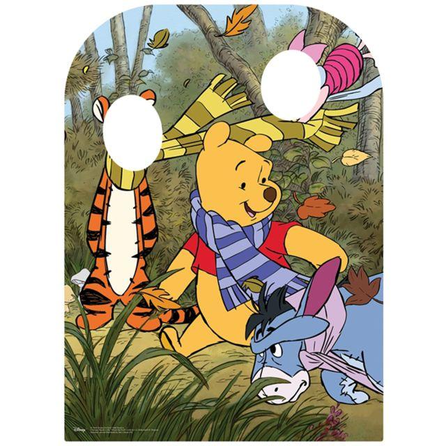 Bebe Gavroche Figurine en carton Passe tête Winnie l'Ourson Disney