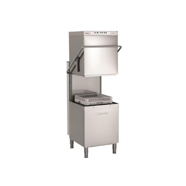 Bartscher Lave vaisselle à capot panier 500X500 mm - 4 Programmes