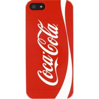 Coca-cola - Coque coloris rouge pour iPhone Se et 5s