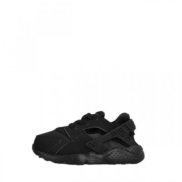 71121faceedd5 Nike - Basket Huarache Run Bébé - Ref. 704950-016 - pas cher Achat   Vente  Baskets enfant - RueDuCommerce