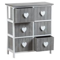 commode profondeur 70 cm achat commode profondeur 70 cm pas cher rue du commerce. Black Bedroom Furniture Sets. Home Design Ideas