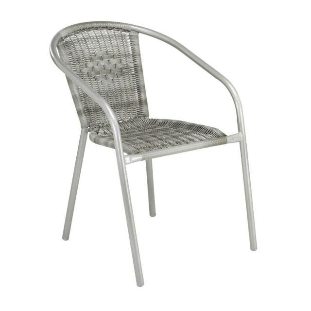 Carrefour Chaise De Jardin Empilable Pour Balcon Acier