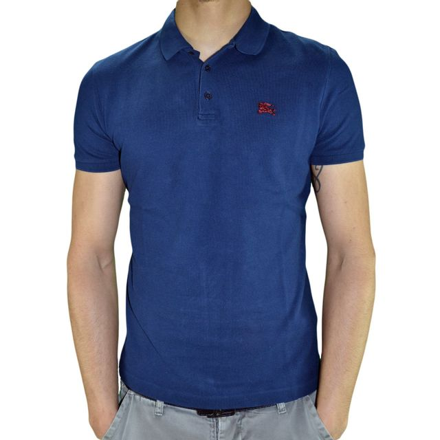 Burberry - En Solde - Burberry - Polo Manches Courtes - Brit Cassius Metal  Polo - 17bad8afcd6