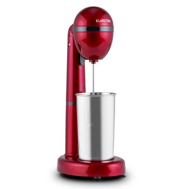 KLARSTEIN van Damme Mixeur boissons 100W 450 ml contenant acier rouge