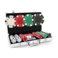 Pokeo - Malette Poker Poker Dice 300 jetons