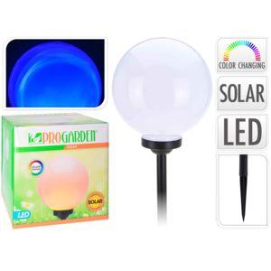 provence outillage lampe boule solaire multicolore 30 cm et h 44 cm blanc pas cher achat. Black Bedroom Furniture Sets. Home Design Ideas