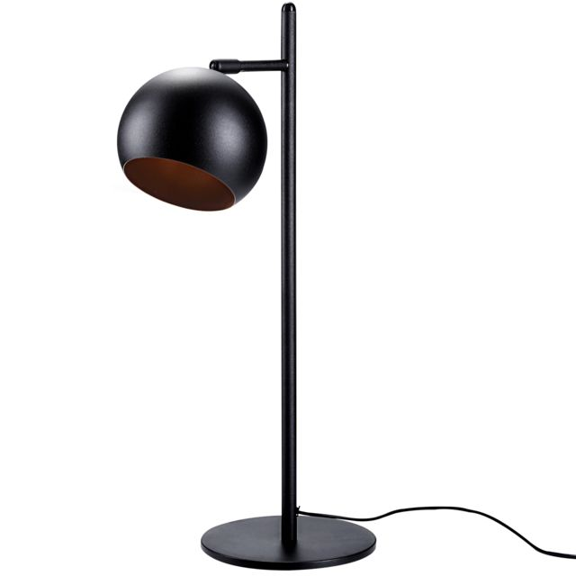 rendez vous deco lampe boule noir et cuivre pas cher. Black Bedroom Furniture Sets. Home Design Ideas