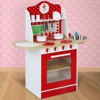 Infantastic - Cuisine jouet pour enfant avec set de 12 accessoires