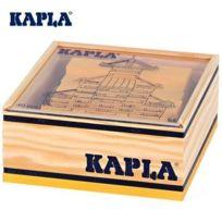 Kapla - Jeu de construction boîte carré 40 planchettes colorées