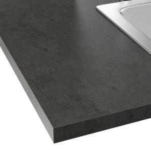 alin a classic cuisine plan de travail stratifi effet b ton fonc 208x60cm pas cher achat. Black Bedroom Furniture Sets. Home Design Ideas