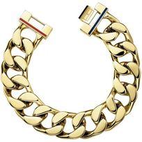 Tommy Hilfiger Bijoux - Bracelet Tommy Hilfiger Jewelry 2700702 - Bracelet Clip Doré Homme