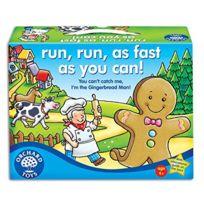 Orchard Toys - Jeu de plateau Run, Run, as Fast as you Can! - Langue: anglais