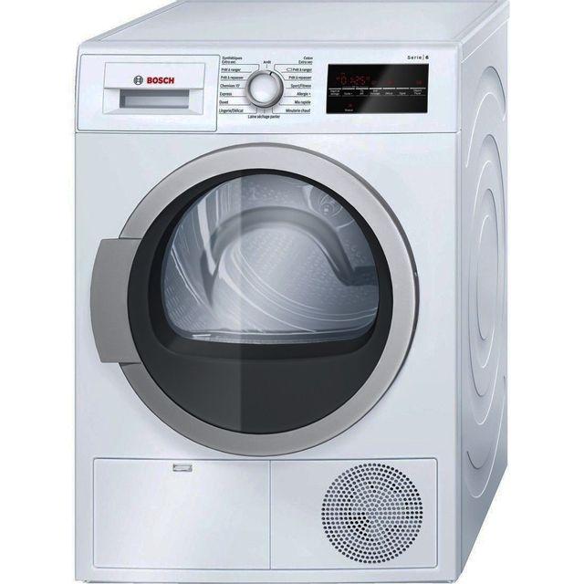 Bosch - Sèche-linge - 9 Kg - B - 60 cm - Pose libre - Blanc