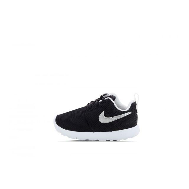 on sale ef6e9 acb98 Nike - Basket Roshe Run Bébé - Ref. 749430-021 - pas cher Achat   Vente  Baskets enfant - RueDuCommerce