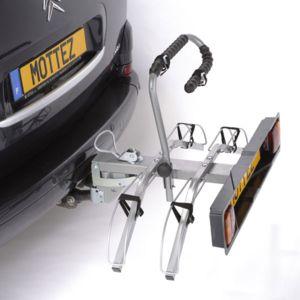 Mottez Portevélos Sur Attelage Plateforme Pour Vélos Montage - Porte velo d attelage