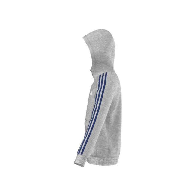 Adidas Veste 3 Capuche Pour Grattée Performance À Garçon Zippée OOUwpqnH