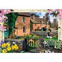 Master Pieces - Puzzle 1000 pièces : Cottage Tulipe