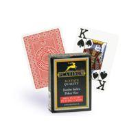 Modiano - Cartes Poker Platinum acetate rouge