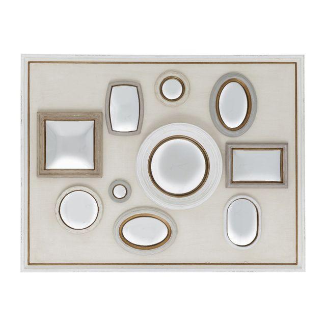 Karedesign Miroir Collage Frame blanc 130x170cm Kare Design
