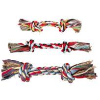 Denta Fun - Corde à nœud en coton Longueur 70 cm