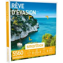 Smartbox - Rêve d'évasion - 5560 expériences : séjour, séance bien-être, gastronomie ou aventure - Coffret Cadeau