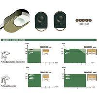 Somfy - Kit de motorisation Dexxo Pro 800 Rts avec rail chaîne pour porte de garage