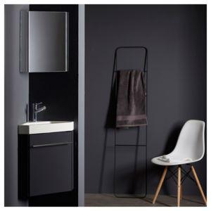 planetebain lave mains d 39 angle complet pour wc avec meuble couleur gris anthracite pas cher. Black Bedroom Furniture Sets. Home Design Ideas