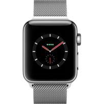 Watch 3 Cellular 38 - Acier / Bracelet milanais argent