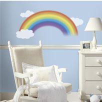 RoomMates - Jomoval Room Mates Sticker Mural Pour Enfant Repositionnable Arc En Ciel