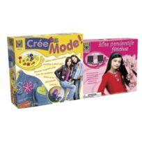 Creative Toys - Ct 5432/5606 - Loisir CrÉATIF - CrÉE Ta Mode + Mes Pendentifs FÉTICHES