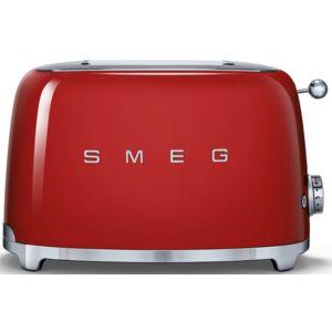 Smeg grille pain 2 fentes 950w rouge tsf01rdeu pas - Grille pain rouge pas cher ...