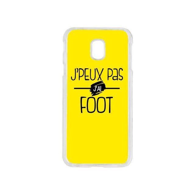 coque galaxy j3 2017 foot