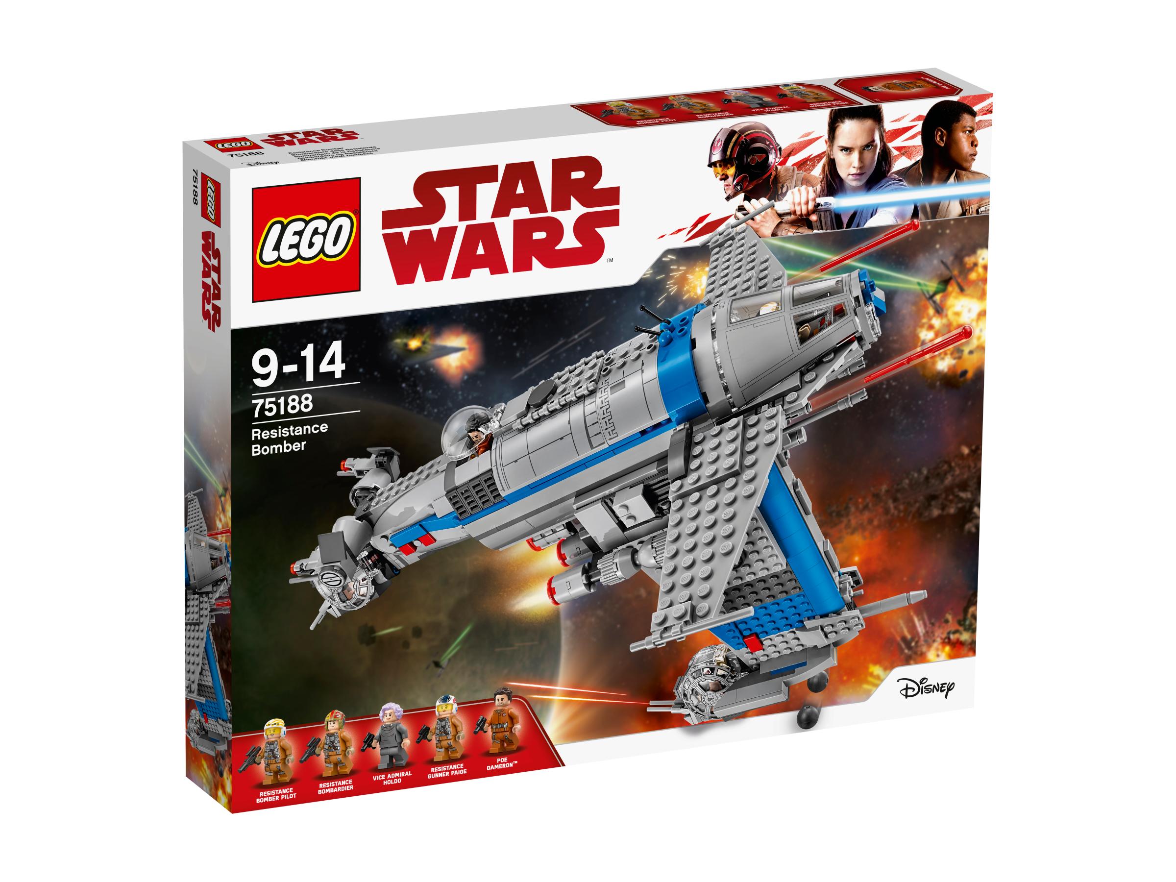 Star Wars - Resistance Bomber - 75188