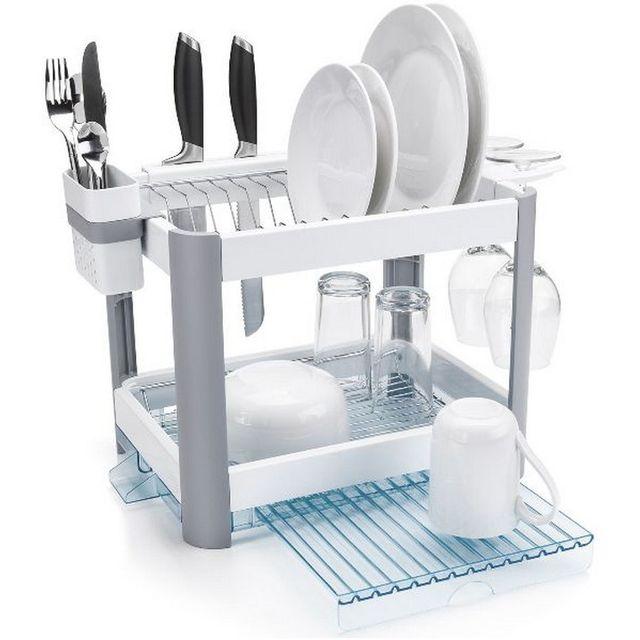 minky gouttoir vaisselle en plastique ts10400100 pas cher achat vente egouttoir. Black Bedroom Furniture Sets. Home Design Ideas