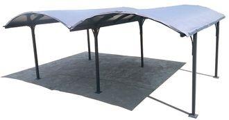 foresta bache pour carport double toit 1 2 rond habcarb6048 pas cher achat vente carports. Black Bedroom Furniture Sets. Home Design Ideas
