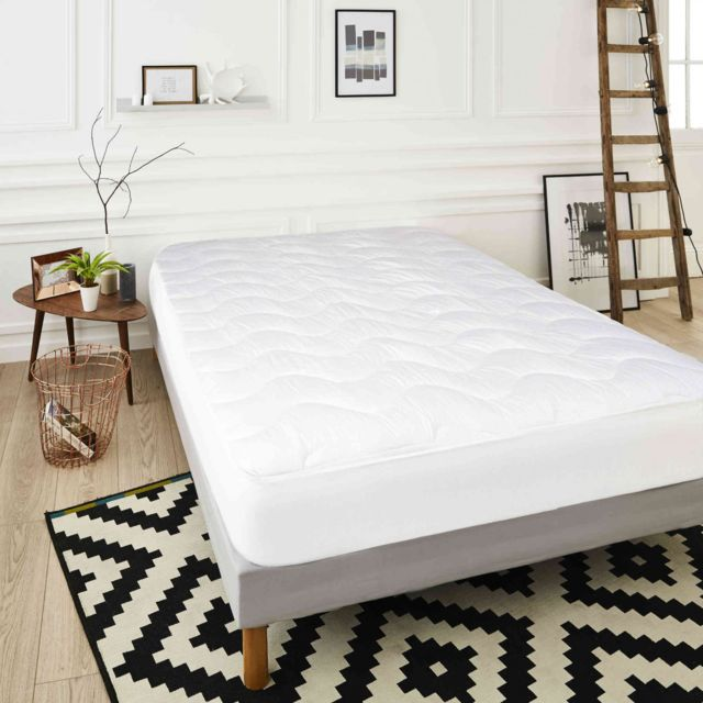 SWEETNIGHT Surmatelas Royal Satin 140x190/200