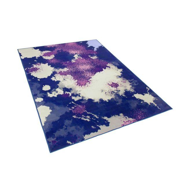 Tapis violet et pourpre 140 x 200 cm KADIRLI