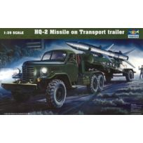 Trumpeter - 1:35 - Chn Hq-2 Missile W/ Loading Cabin