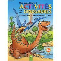 Livre Coloriage Dinosaure.Coloriage Dinosaure Catalogue 2019 Rueducommerce Carrefour