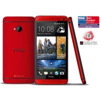 HTC - Smartphone One Rouge