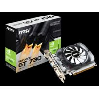 MSI - carte graphique Nvidia GeForce GT730 4Go DDR3 V2