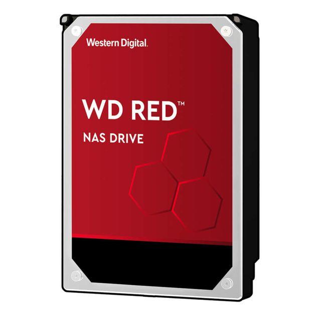 """WD Western Digital Red 3.5"""" 6000 Go Série ATA III Western Digital Red. Taille du disque dur: 3.5"""", Capacité disque dur: 6000 Go, Vitesse de rotation du disque dur: 5400 tr/minL'as des NASPour chaque système NAS, il existe un disque dur WD Red po"""