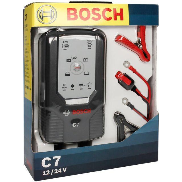 bosch chargeur de batterie c7 12 24v 201867 pas cher. Black Bedroom Furniture Sets. Home Design Ideas