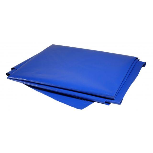 tecplast b che 8 x 6 m pvc 680g 6 x 8 m bleue btp toiture jardin dur e de vie plus de 10. Black Bedroom Furniture Sets. Home Design Ideas